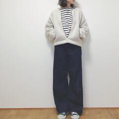 ボアブルゾン/GU/秋/ファッション いつかのコーデ。 guのボアブルゾンが可…