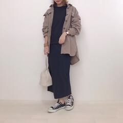 GU/しまむら/コーデュロイジャケット/コーデュロイシャツ/セットアップ風/ファッション いつかのセットアップ風コーデにしまむらの…