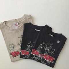 Tシャツ/GU/購入品/ファッション GU購入品。 子供達が大好きなトムとジェ…