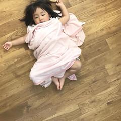 おねむ/ねんね/1歳7ヶ月/娘 おねむな末っ子ちゃん。 眠たくなったので…