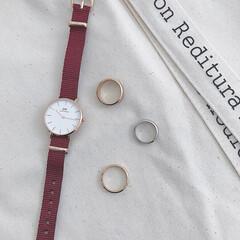ダニエルウェリントン/腕時計/ファッション ダニエルウェリントンの腕時計⌚️ 小さめ…