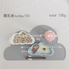 離乳食/離乳食後期/生後11ヶ月/赤ちゃん/おうちごはん/グルメ/... 12月26日の離乳食。 炊き込みご飯はい…