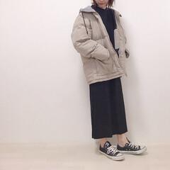 カジュアルコーデ/メンズアイテム/中綿ブルゾン/GU/ファッション GUメンズの中綿ブルゾン ゆったりXLサ…