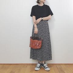 ユニクロ/ブラックコーデ/ハニーズ/プリーツスカート/ファッション/みんなにおすすめ ハニーズのプリーツスカート着回し✧  こ…