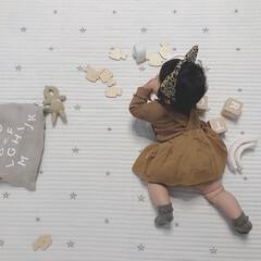 レオパード/仮装/生後9ヶ月/赤ちゃん/ハロウィン/ファッション 今年はレオパードがアツいという事で… ヒ…