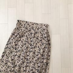 プチプラ/花柄スカート/しまむら購入品/しまむら/ファッション ずっと気になってたしまむらの花柄スカート…