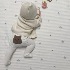 GAP/ベビー服/生後9ヶ月/赤ちゃん/ファッション おしりにくまさん♡ たまらん可愛さ♡ パ…