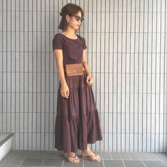 プチプラコーデ/GU/コーデ/ママコーデ/男の子ママ/ファッション 夏のファッションアイテムコンテスト 参加…