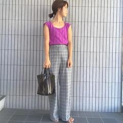 GU/プチプラ/ママファッション/男の子ママ/コーデ/夏コーデ/...   🌻夏のファッションアイテム コンテス…