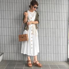 ママコーデ/主婦/しまむら/ファッション 夏のファッションコンテスト参加中〜〜💓 …