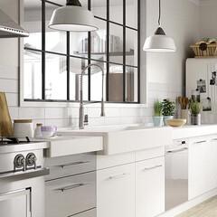 タイル/DIY/キッチン/インテリア/リフォーム/リノベーション/... お洒落なキッチンタイルのアイデア更新しま…