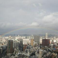 令和の一枚/至福のひととき/風景/暮らし/雨季ウキフォト投稿キャンペーン/虹/... 今日の1枚。まさに虹の橋🌈