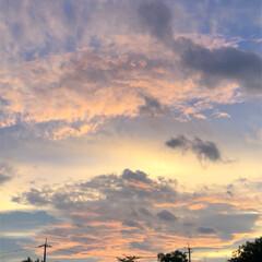 夕焼け雲/夕陽/夕日/祭り/夏祭り/夕焼け/... 今日は近所の市民祭りに行ってきました。 …(7枚目)
