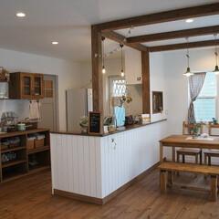 かわいい家/ナチュラルな家/雑貨屋さんのような家/カフェのような家/自然素材の家/リボスで塗装/... e-planning(ぶたさんの家)のつ…