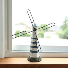 雑貨の風車/壊れかけた風車/小さい風車 イー・プランニング(ぶたさんの家)のつく…