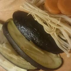 ナス/生姜焼き 秋茄子を生姜の千切りと一緒に焼いてみまし…