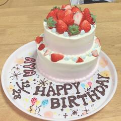 バースデーケーキ 20歳おめでとう㊗️🎉