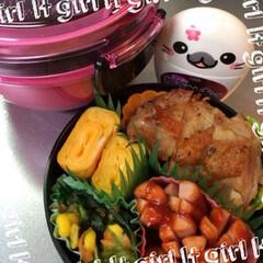 ふりかけ/卵焼き/お弁当/フード 今日ゎお弁当🍙