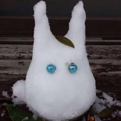 雪だるま/トトロ/冬インテリア 小トトロ