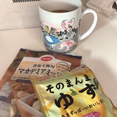 マグカップ/アリス/おやつ/フード アリスのマグカップ♦️❤☕❤♦️ 温度で…(1枚目)