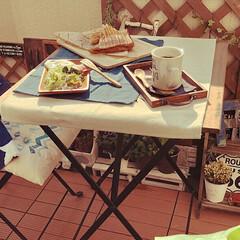 IKEA/ベランダでブランチ/ベランダガーデン/キッチンキッチン/LIMIAごはんクラブ/フォロー大歓迎/... 今日は春爛漫🌸ポカポカ陽気でした。 ベラ…