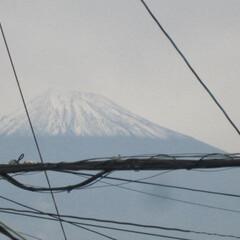 寒い/富士山/雪 寒~~~~~~っ(。>ㅅ<。)。。。と思…