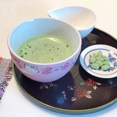 抹茶/フード 昨日お気に入りの和風カフェで、お抹茶頂い…