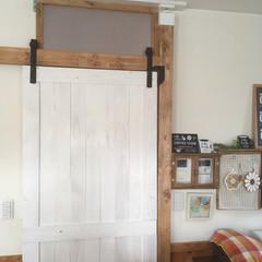 内窓DIY/引き戸DIY/引き戸/2018/フォロー大歓迎/DIY 引き戸を作った事で、寒さ対策が出来ました…