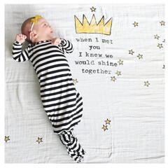 おくるみ/ブランケット/膝掛け/出産祝い/赤ちゃん/寝相アート 大人気の可愛いすぎるガーゼおくるみ❤︎ …