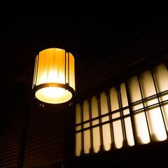 癒し/格子/アンティークランプ 優しい光のアンティークな照明 見ているだ…