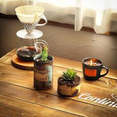 宇都宮市/栃木県/リメ缶/フェイクグリーン/消臭効果/コーヒーかす/... コーヒーかすの活用 消臭効果があるので、…(5枚目)