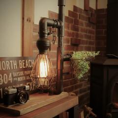 DIY/照明/塩ビ管/エジソンバルブ 照明をDIYしました。
