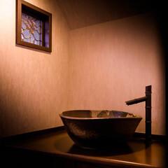 益子焼/陶器市/手洗い器 益子焼の手洗い器 益子焼は栃木県の陶器で…(1枚目)