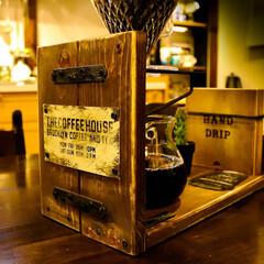 DIY/木の家/宇都宮/コーヒーのある暮らし/コーヒー/ドリッパースタンド/... 久々にDIY ドリッパースタンドを作って…(2枚目)