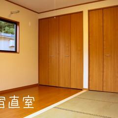 阿部興業株式会社/栃木県/木の香り/薪ストーブ/木の休憩所 取引先の社員さんの休憩施設です。 木を使…(4枚目)