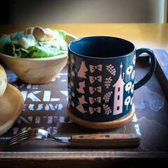 サイエンスホーム/栃木県/木の家づくり/阿部興業株式会社/コーヒー好き/コーヒー/... 今日のカップは、ムーミンシリーズのスナフ…