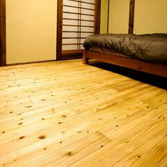 木の家/木炭/珪藻土/自然素材/究極の寝室/寝室 自然素材にこだわった「究極の寝室」 寝室…(2枚目)