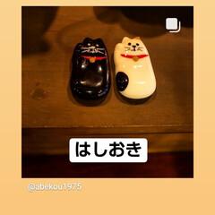 ネコ/はしおき/チーズケーキ/アイスコーヒー/栃木県/宇都宮市/... 毎日☀️😵💦 涼を求めて喫茶店へ  おい…