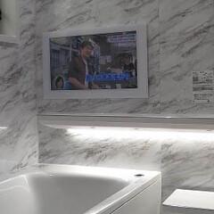 阿部興業株式会社/除菌水/リモデルクラブ/TOTOシンラ/楽湯/浴室リフォーム/... 浴室リフォーム🎵 1日の疲れを癒してくれ…(5枚目)