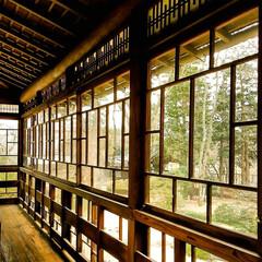 木造住宅/木造建築/断熱/和風建築/格子窓/江戸東京たてもの園 窓は断熱という点では、なるべく少なく小さ…