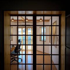 木の家づくり/阿部興業株式会社/宇都宮市/栃木県/サンルーム/趣味の部屋/... 六角形の部屋のリフォームです。 西洋館の…(4枚目)