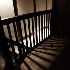 真壁造り/光/阿部興業株式会社/サイエンスホーム/無垢材/階段手すり/... 無垢材にこだわったお住まい 階段手すりも…