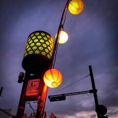 ノスタルジック/和傘/提灯/光りのイベント/那珂川町/栃木県 光りのイベントの続きです。 辺りは暗くな…(3枚目)