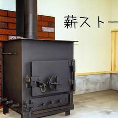 阿部興業株式会社/栃木県/木の香り/薪ストーブ/木の休憩所 取引先の社員さんの休憩施設です。 木を使…(1枚目)