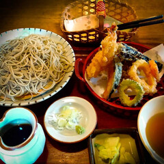 石蔵/大谷石/天丼/天ぷら/壬生町/栃木県/...    おいしい蕎麦を頂きました😋💕 大谷…(1枚目)