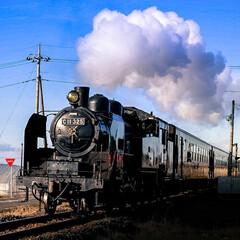 真岡鐵道/SL 真岡鐵道 土日に走っています  力強いで…