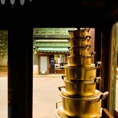 なつかしい/レトロ/江戸東京たてもの園/金物屋/やかん/なべ レトロでオシャレな金物屋さん 掘り出し物…