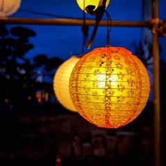 ノスタルジック/和傘/提灯/光りのイベント/那珂川町/栃木県 光りのイベントの続きです。 辺りは暗くな…(2枚目)