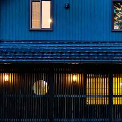 無垢材/宇都宮市/栃木県/ひのきの家/木の家づくり/木の家/... 日本の町並みをイメージしたい外観のお住ま…(5枚目)