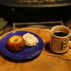 阿部興業株式会社/宇都宮市/栃木県/ヨツール/焼きリンゴ/薪ストーブクッキング/... 薪ストーブで簡単クッキング🙌 リンゴの芯…